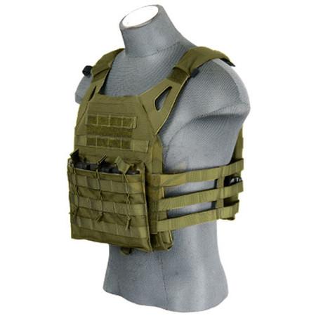 Lancer Tactical JPC Jumpable Plate Carrier OD Green