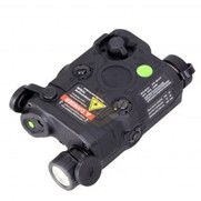 Bravo PEQ15 Flashlight and Green Laser Combo Black