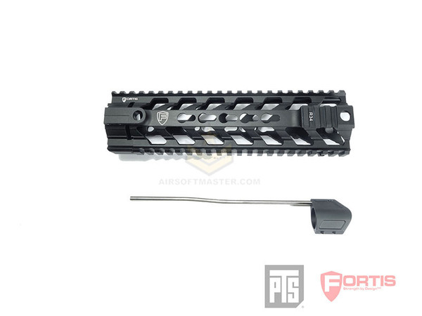 PTS Fortis REV Free Float Rail System 9 Inch Black