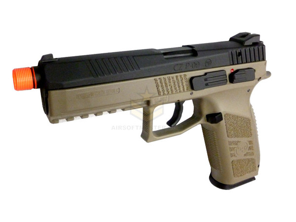 ASG CZ P-09 GBB Pistol CO2 Tan