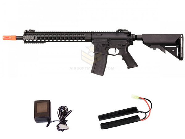 Knights Armament SR16-E3 Carbine MOD2 Black  by Echo1