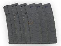 Hexmag Airsoft 120rd Midcap Magazine 5-Pack OD