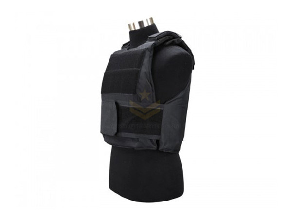 Defcon 600 Denier Body Armor Shell Black