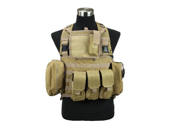 Defcon Commando Chest Rig Tan