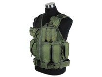 Defcon Tactical Crossdraw Vest OD