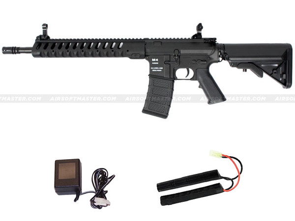 Classic Army M4 Delta-12 Skirmish AEG Black