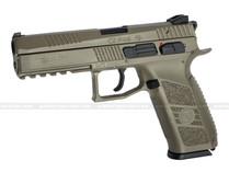 ASG CZ P-09 Polymer GBB Airsoft Pistol FDE/Tan