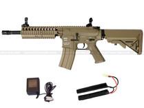 Classic Army M4 RIS EC1 Skirmish Airsoft Rifle Tan