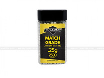 Jag Arms .25g Airsoft BBs 2500R Match Grade White