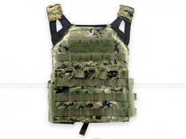 Defcon JPC Style Low Profile Plate Carrier Digital Woodland