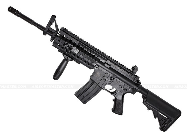 ASG Armalite M15 S.I.R. S-System MOD-2 M4 Airsoft Rifle Black