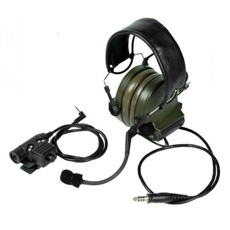Bravo Headset Style #3 for Motorola 1 Pin Handheld Radio