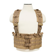 The NcStar CVARCR2922T AR Chest Rig Tan