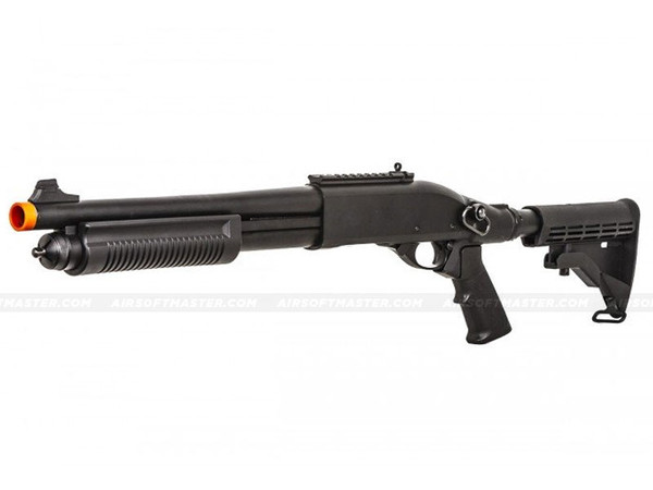 Jag Arms Scattergun TS Gas Shotgun Airsoft Gun Black