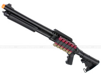 Jag Arms Scattergun TSS Gas Shotgun Airsoft Gun Black