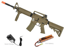 Lancer Tactical LT-04 Gen2 M4 SOPMOD Carbine Airosft Gun Tan