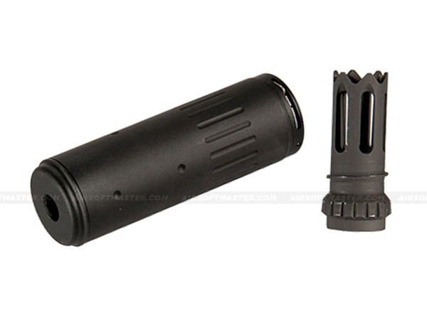 Lancer Tactical AC-403B Mock Suppressor w/ Flash Hider Black