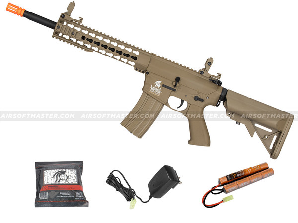 The Lancer Tactical LT-12TK-G2 M4 Keymod Evo Gen 2 in Tan