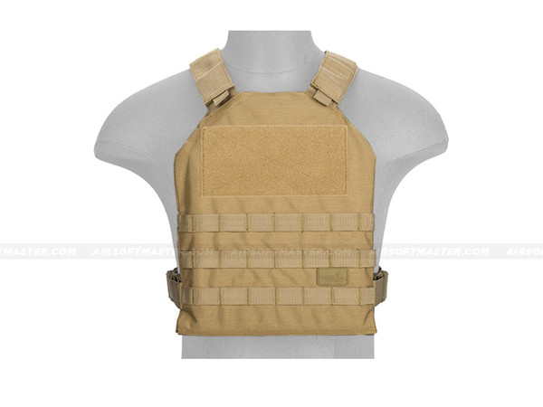 Lancer Tactical CA-1512KN Basic Plate Carrier Tan
