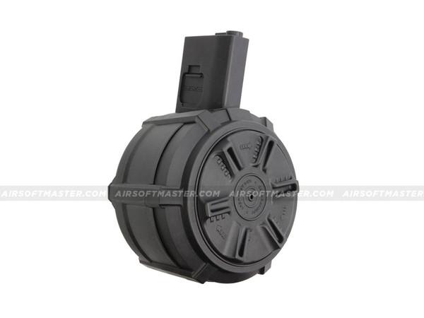 G&G M4 Drum Mag 2300R Black