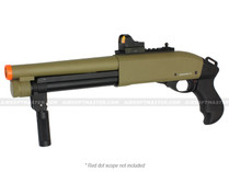 Jag Arms Super CQB Gen 2 Scattergun Gas Shotgun Tan