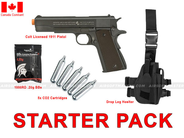 Gold Pistol Starter Package