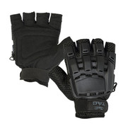 V-Tac Half Finger Gloves - Black