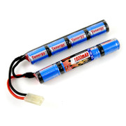 Tenergy 9.6v 1600mAh NiMH Mini Butterfly/Nunchuck Battery