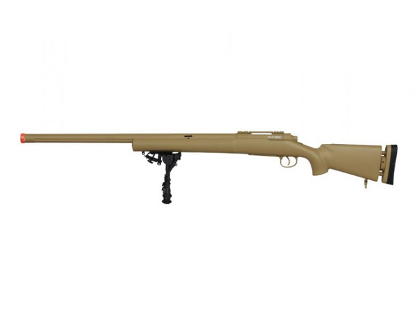 ECHO1 M28 Bolt Action Sniper Rifle Airsoft Gun Full Metal (TAN)