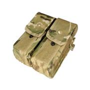 Condor Double AR/AK Mag Pouch - Multicam
