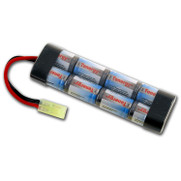 Tenergy 9.6v 1600mAh NiMH Mini Flat Battery