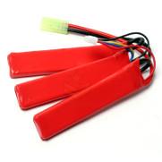 G&G 11.1v 1100MAh 20C 3pc Stick LiPo Battery