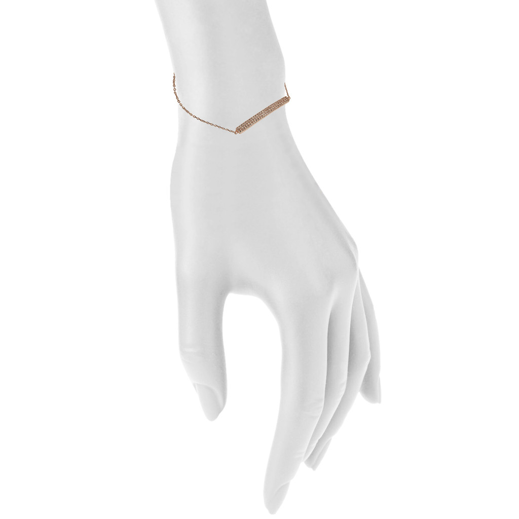 Rose Gold Plated Shown on Arm