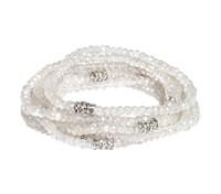 White Topaz Bracelet Stack