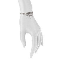 Antique Rhodium Plated Shown on Arm