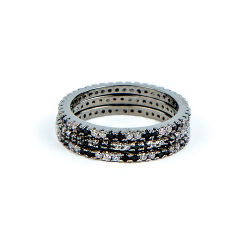 Black Rhodium Plated