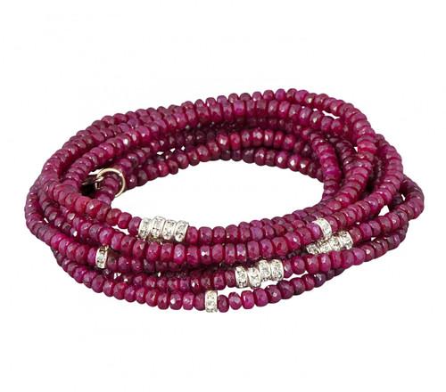 Ruby Bracelet Stack