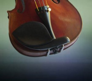Guarneri chinrest style