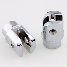 Universal Foot Peg Clevis Chrome