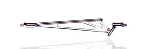 Wireframe Shifter Rod Chrome All Models STD Length