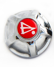 Wireframe Oil Filler Cap Chrome 2007Up