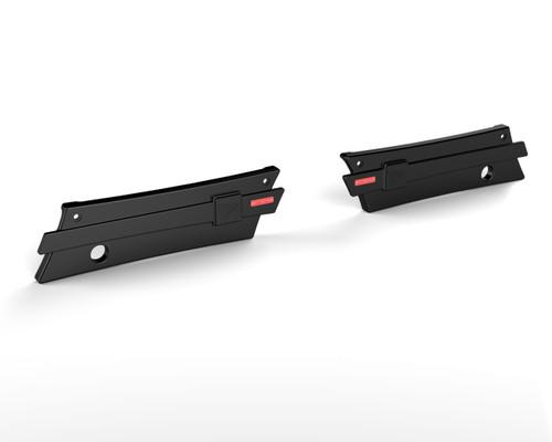 30-527 Crusader Saddlebag Latch Covers Pre 2014 Black