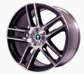 Ford Racing 19x10 Boss 302 S Wheel (Black with machined finish)