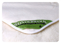 Wool Underlay - Strapped (Incl Cot & Bassinet Sizes)