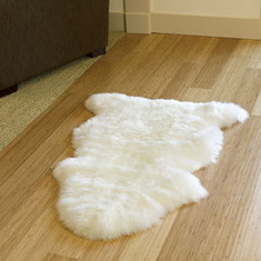 Golden Longwool Sheepskin Rug - Premium Grade Single