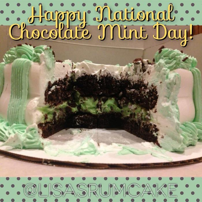 We Love Food Holidays Happy National Chocolate Mint Day