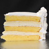 LEMON RICOTTA: moist layers of Yellow cake filled with zesty lemon custard and Ricotta cannoli cream. Add $5.