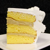 Maple: moist Yellow cake layers filled with creamy Maple custard. Imagine a giant stack of fluffy pancakes covered in maple syrup... YUM!