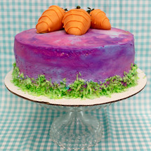Tie Dyed Cake