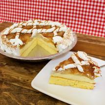 Caramel Apple Cake Pie